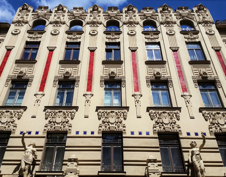 Riga, Alberta iela, Fasāžu renovācija